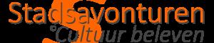 Logo Stadsavonturen_Culruue beleven_grijs