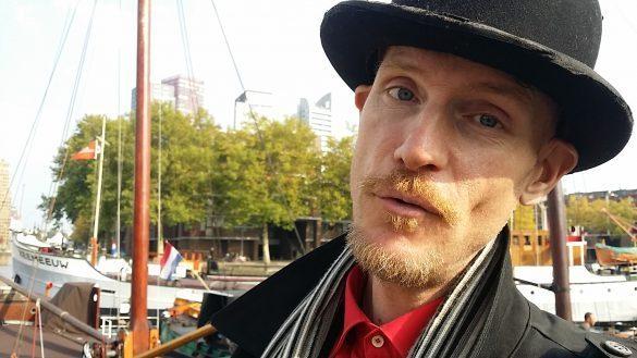 Stadswandeling Rottedam Oude Haven met verhalenvertellern Jacobus