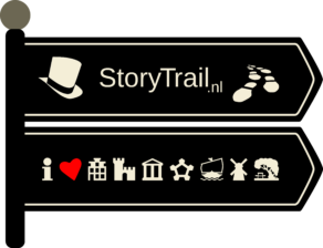 StoryTrail-Stadswandeling-wegwijzer-Logo